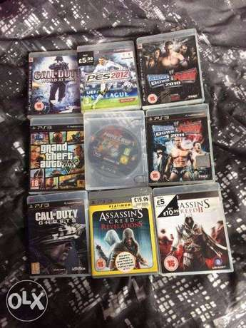 Black Friday Deals 5 in one ps3 games for only 8k Wuse - image 1