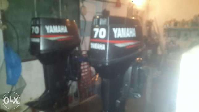2 × 70 Yamaha outboard motor's for sale Bluff - image 1