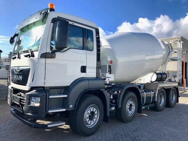 MAN TGS 37.360 8x4 EURO6 10m3 mixer - 2019