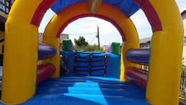 2 in 1 jumping castle on hire