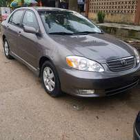 Imported Toyota Corolla sport (2003)give away