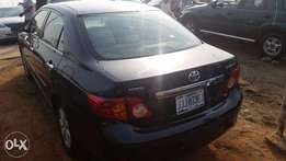 Nigerian Used Toyota Corolla, 2009. Just like Toks.
