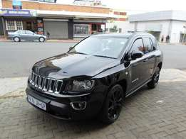 2014 model jeep compass 2.0,black,73 000km,leather interior,for sale