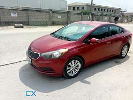 Registered Kia Cerato (2014)