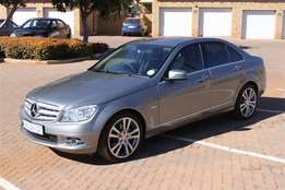 2010 Mercedes Benz C200 Kompressor Avantegarde