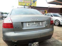 Audi A4 B6 2004 Rear bumper, Bootlid, Tailights for Sale
