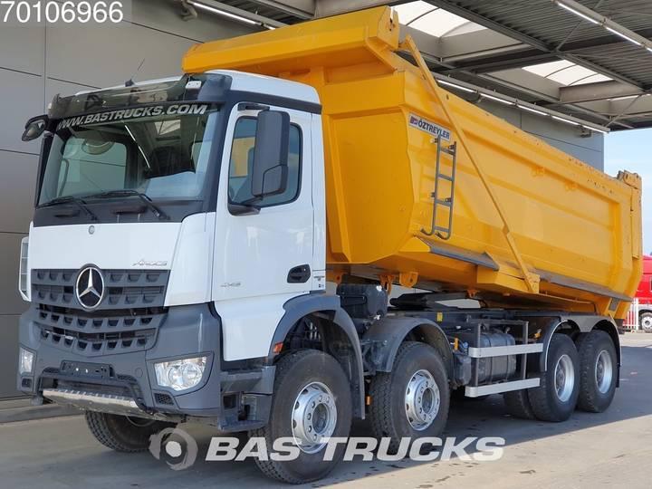Mercedes-Benz Arocs 4145 K 8X4 Big-Axle Steelsuspension Euro 6 - 2017