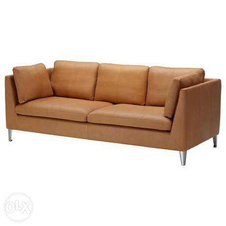 Sofa in brown color