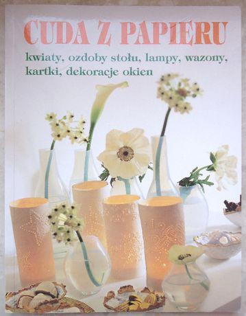 Cuda Z Papieru Kwiaty Ozdoby Stołu Lampy Wazony Kartki