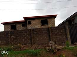 For sale uncompleted 4unit of 3bedroom flat, At Gemade Estate Egbeda