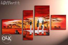 African women coll..painting