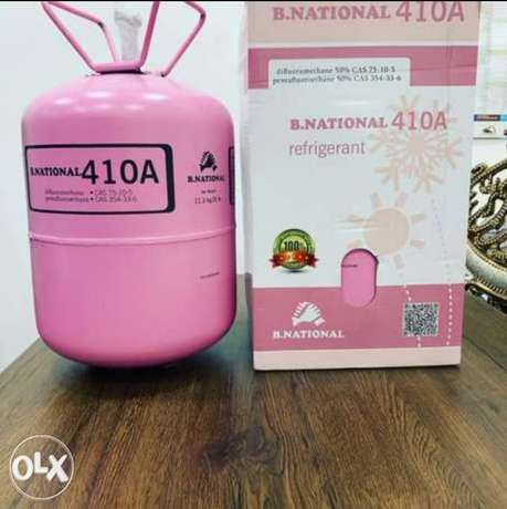 410a Gas for AC. Made in Singapore. Very good quality