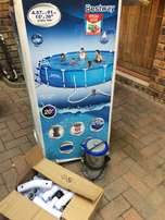 Bestway Steel Frame Pool - Demo Model Excelent Condition *Urgent Sale*