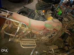 Motorcycle insurance salvage available