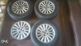 14 inch ex Japan rims fits Toyota or Honda