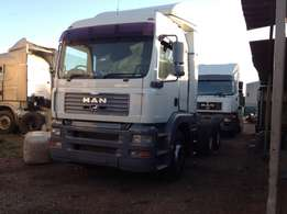 MAN TGA 26.480HP D/diff truck tractor on clearance special