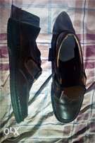 Brown German Leather Shoes
