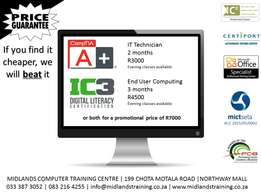 CompTIA A+ and IC3 Courses