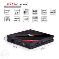 (OFFER!!) Android TV Box. H96 PRO PLUS. Octa-Core S912/3GB/32GB