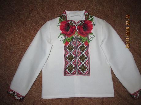 Шикарна сорочка вишиванка бісером на хлопчика 2-3 рочки Львов - изображение  1 80a304a1fa37a