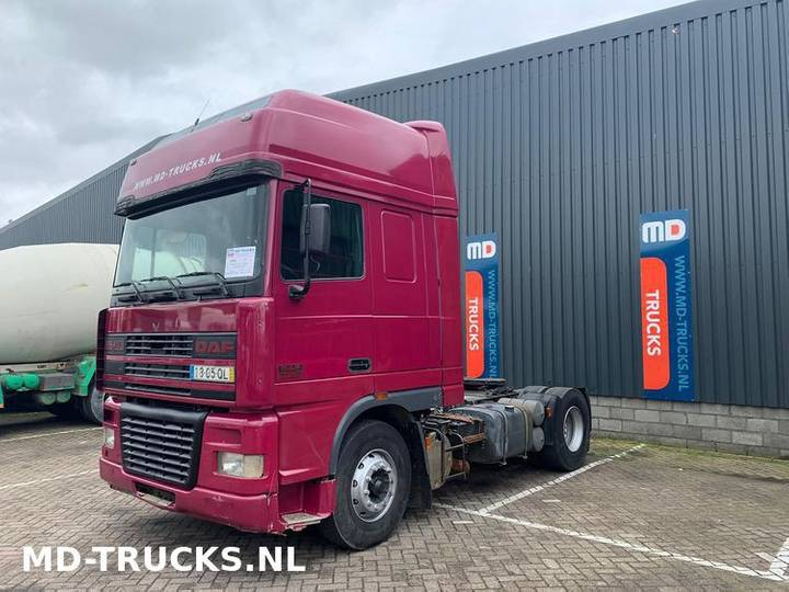 DAF XF 95 430 manual euro 2 - 1997