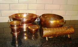 Red copper items