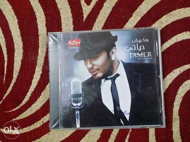 CD originalTamer Hosny Ha3eesh 7ayati