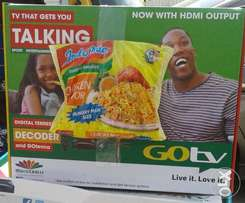 Complete Gotv Sets with Indomie Hungry Man Size