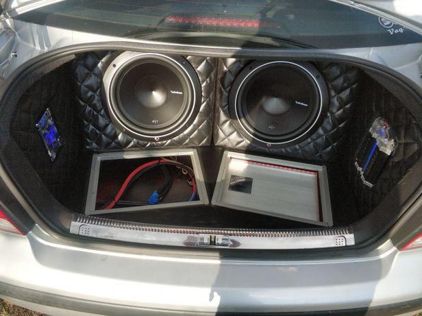 Bardzo dobra Zabudowa car audio VW Bora Grzybowa Góra • OLX.pl QV16