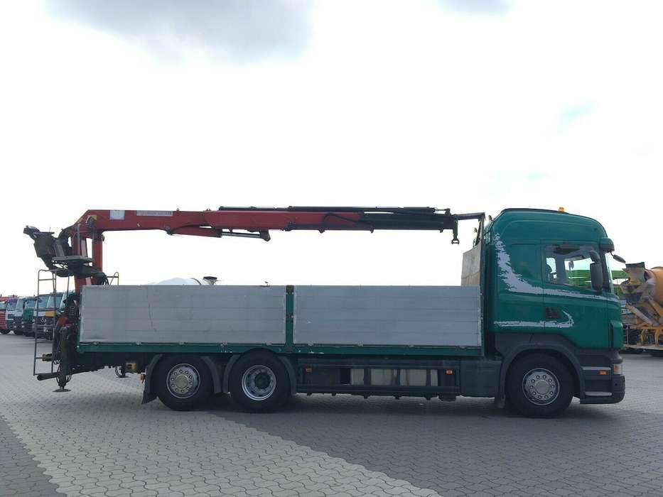Scania R500 6x2 HMF 2000 L2 Baustoff Greiferleitung V8 - 2007 - image 9