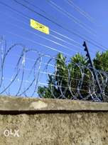 Professional electric fence/perimeter wall installer