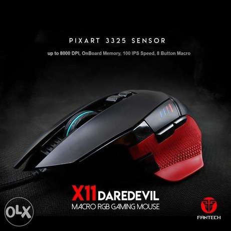 Fantech X11 DAREDEVIL Gaming Mouse دكوانة -  1