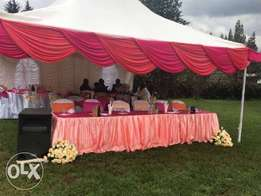 Hire our best tents,chairs,tables and decor