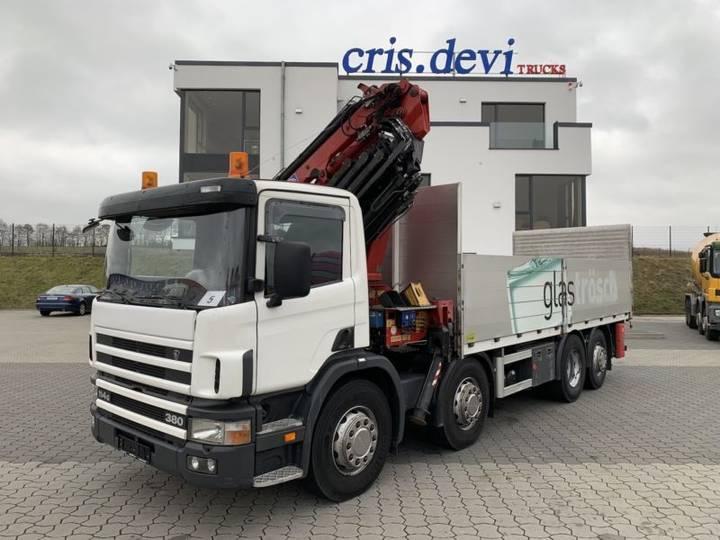 Scania P114 380 8x2 Hmf 2820 Mit Jib + Seilwinde Lbw - 2002 - image 10