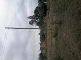 40*80 plot at kenol town. 300 mtrs off tarmac branching at gulf energy