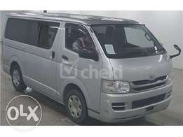 extremely clean toyota Hiace fresh import.
