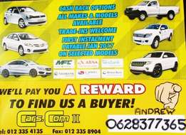 Affordable vehicles and easy bank finance