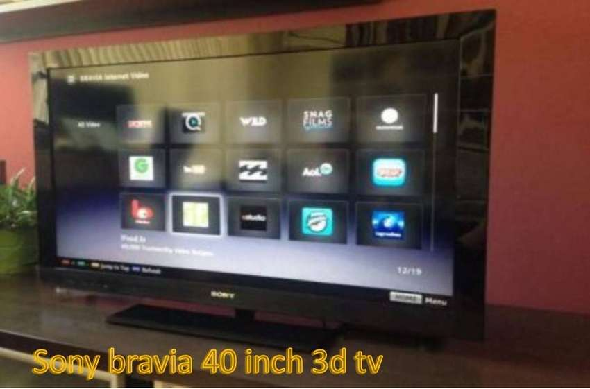 2ee898198ba2 Tv sony bravia led 3d tv 40 inch (with remote)