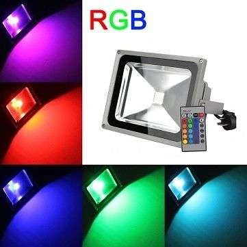 50W LED RGB Floodlight - All The Brightness With All The Savings Sunridge Park - image 3