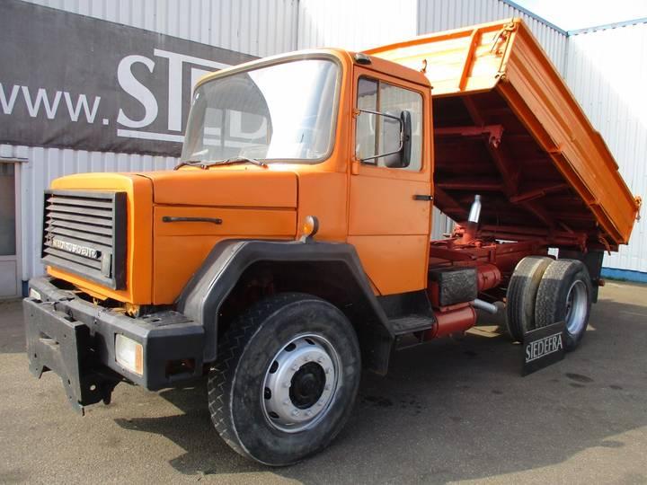 Iveco Magirus, 4x4 , M 170 D 15 , V6 - 1984