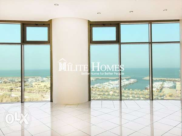 Salmiya - three bedroom sea view apartment for rent