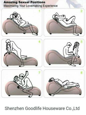 Показать кресло для секса, женщины кончают своей спермой с конвульсиями