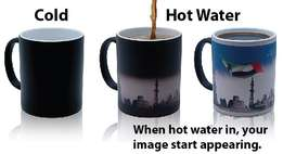 Magic Sublimation Color Changing Mugs for Heat Press Branding