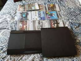 2x ps3 and dj hero with 12 games