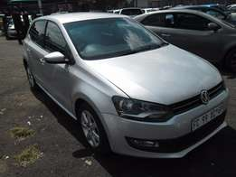A Vw polo 6, 2011 model, 72000km, silver in color, factory a/c, c/d pl