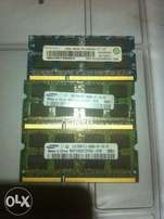 Laptop RAM's DDR3 2GB