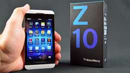 Blackberry Z10 brand new in shop at 14000 with 1yr warranty