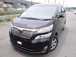 Toyota Vellfire 2010 For Quick Sale Asking Price -2,280,000/=o.n.o