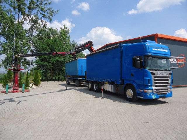 Scania R420 6x2 Euro5 Mit Kran Palfinger Pk23002-sh - 2012