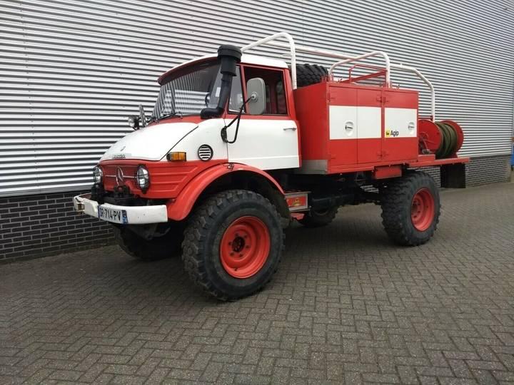 Unimog 416 416 brandweer snelle assen 125 pk - 1976